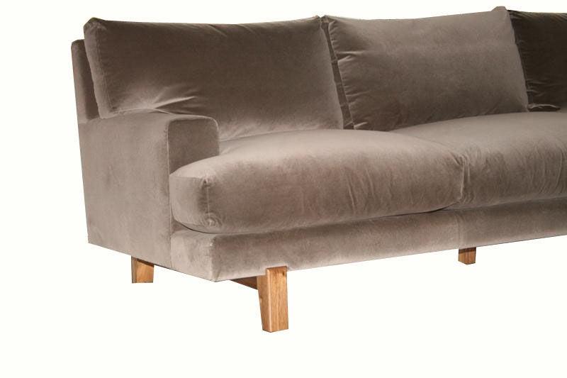 Alexander Walnut Base Sofa 3