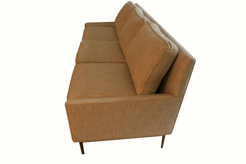 Allen Stepped Arm Three-Seat Sofa For Sale 4