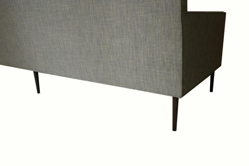 Allen Stepped Arm Three-Seat Sofa For Sale 1