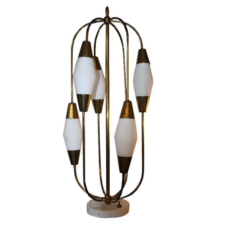 this 1960 39 s brass cage table lamp on marble base is no longer. Black Bedroom Furniture Sets. Home Design Ideas