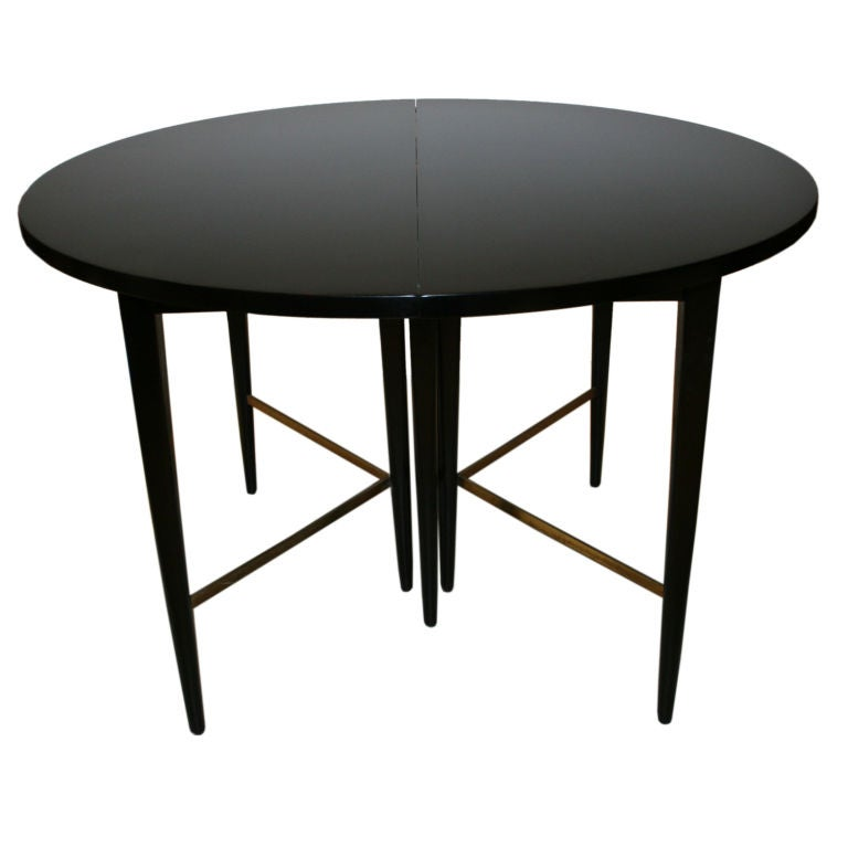 Paul Mccobb Round Extension Dining Table For Directional