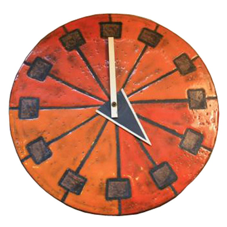 George nelson meridian wall clock for howard miller at 1stdibs for Nelson wall clock
