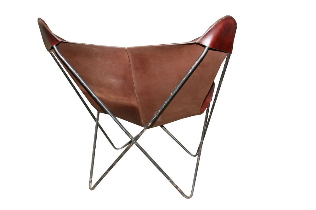 charles pinnell leather sling butterfly chair is no longer available