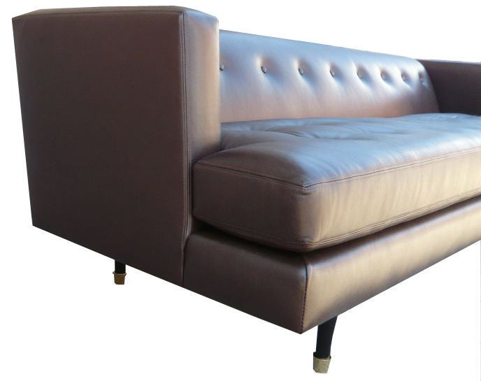 Dirk Leather Hedge Sofa 2