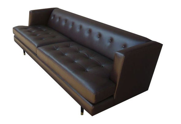 Dirk Leather Hedge Sofa 5
