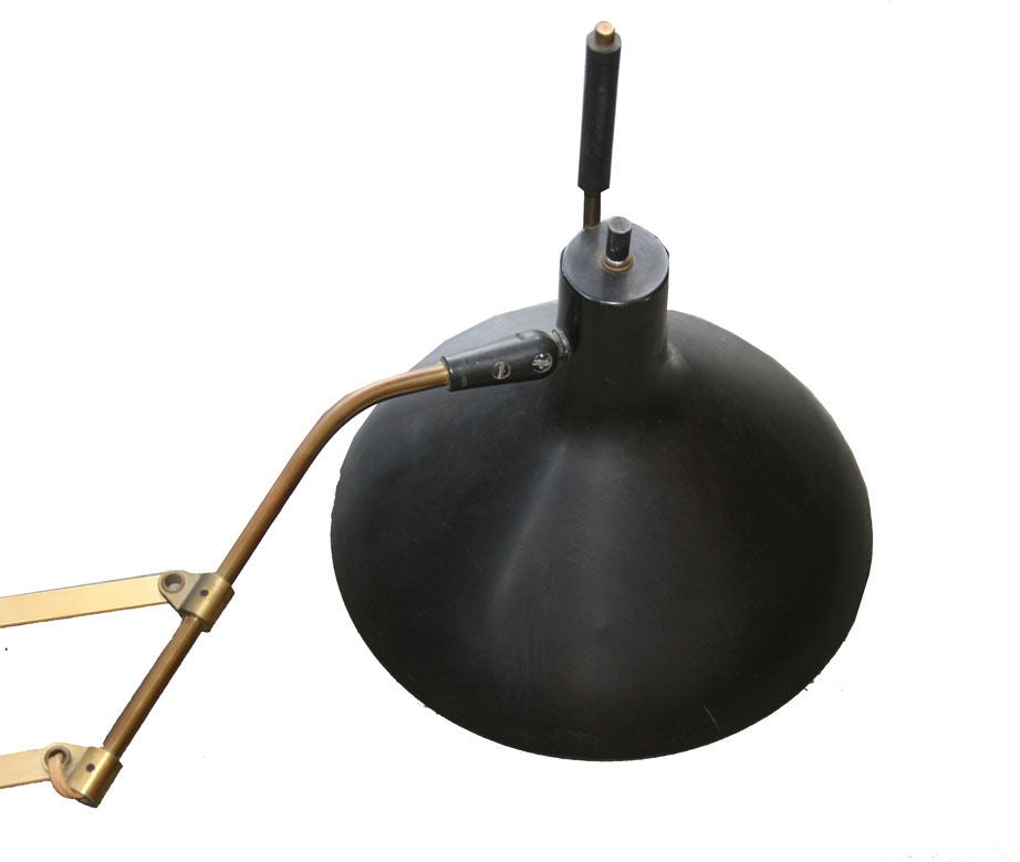1950 s Lightolier Wall Scissor Lamp at 1stdibs