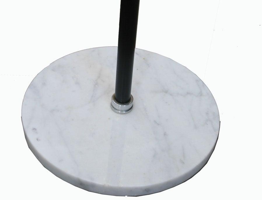 arredoluce adjustable marble base floor lamps at 1stdibs