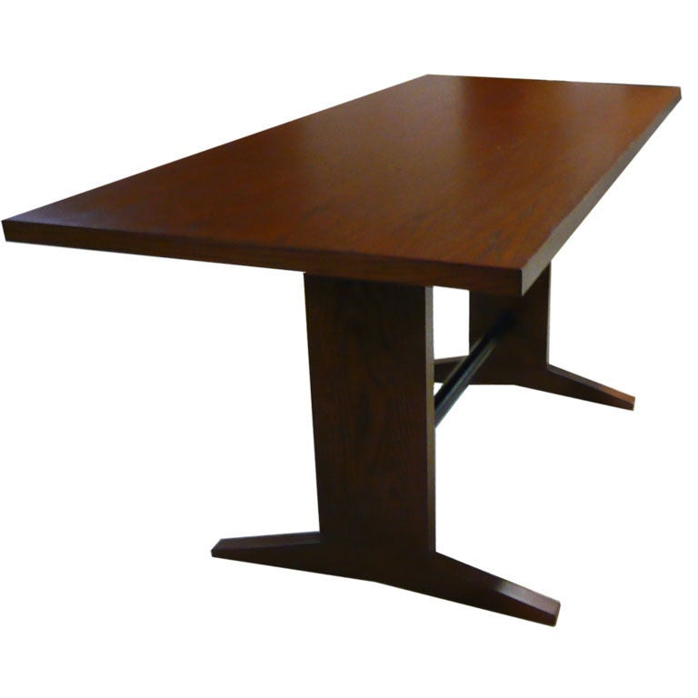 lindy trestle table at 1stdibs