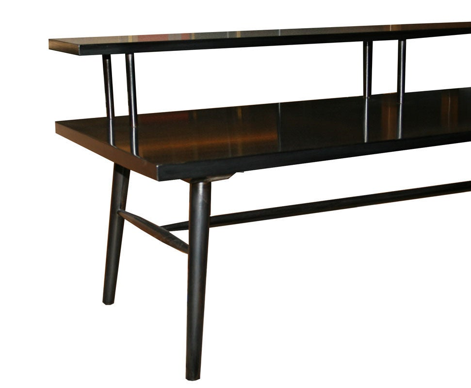 Paul mccobb predictor group bi level coffee table at 1stdibs for 3 level coffee table