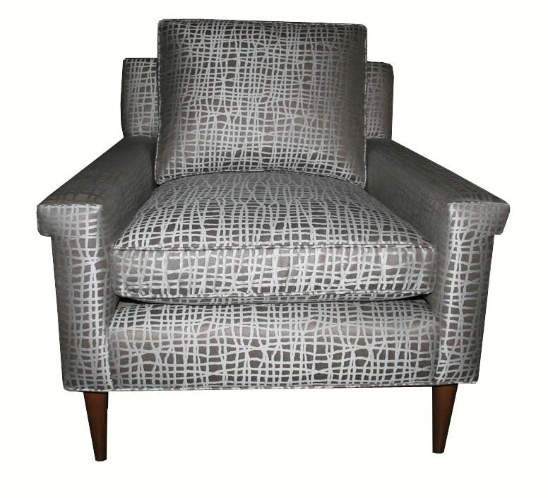 Contemporary Sutton Club Chair For Sale