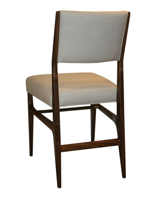 Maze Walnut Dining Chairs At 1stdibs
