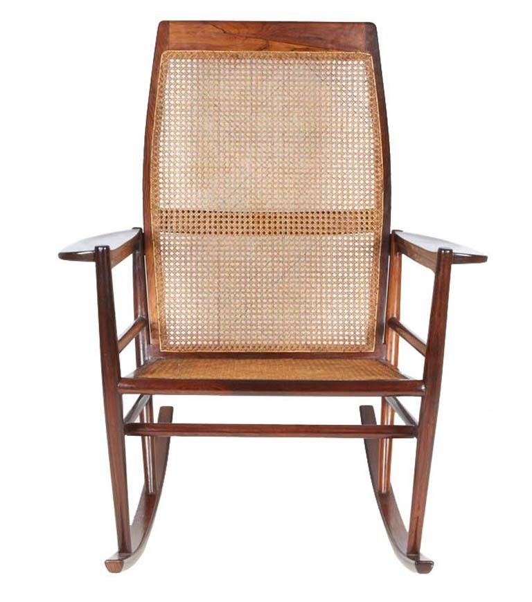Joaquim Tenreiro Rocking Chair For Sale At 1stdibs