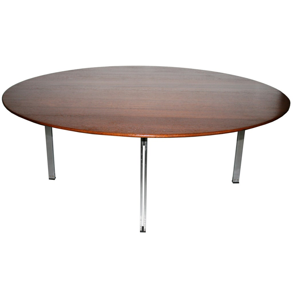 Florence knoll parallele bar teak cocktail table for sale for Cocktail tables