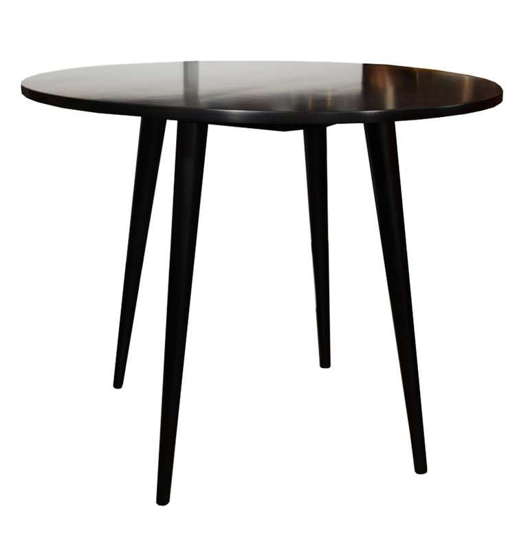 paul mccobb planer group 36 quot round dining table at 1stdibs