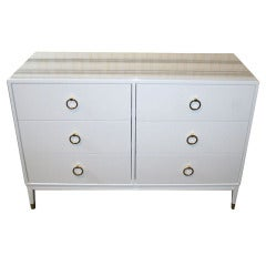 Spencer Lacquered Marble Top Dresser
