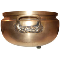 Late 19th Century Bronze Footed Planter