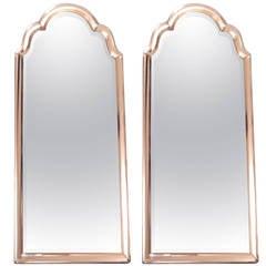 Pair of Venetian Style Mirror Framed Mirrors