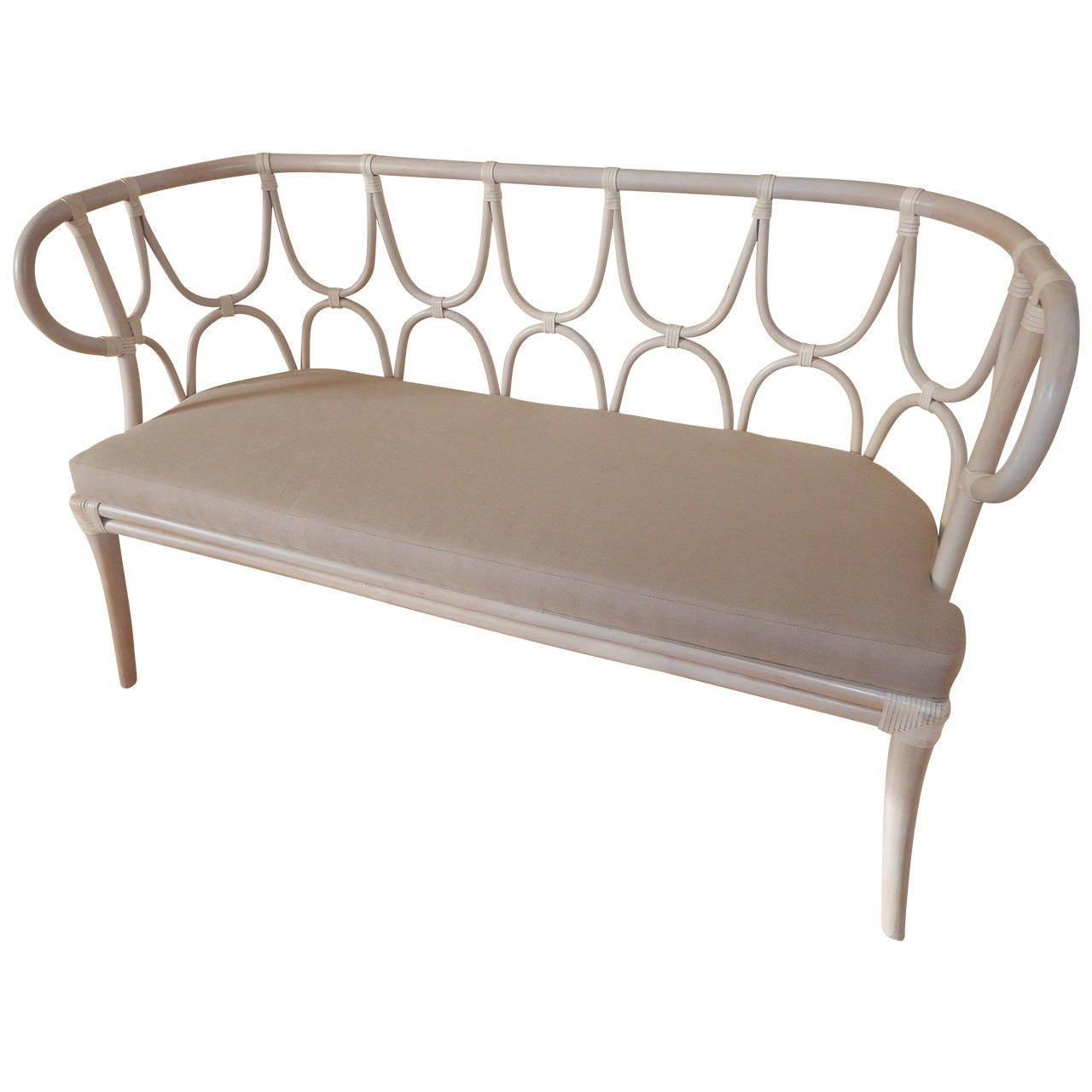 A Thonet Style Bentwood Settee For Sale