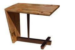 American Studio Craft Artist David N. Ebner's Free Edge End Table