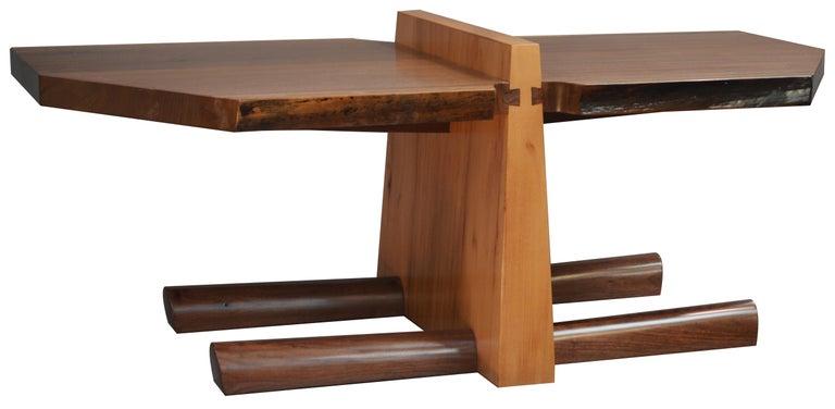 Kahn Coffee Table by American Studio Craft Artist David N. Ebner For Sale