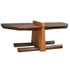 Kahn Coffee Table by American Studio Craft Artist David N. Ebner