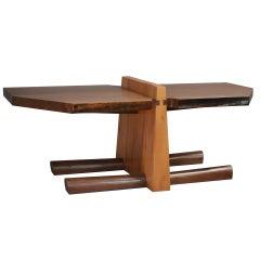 Kahn Coffee Table by American Studio Craft Artist David N. Ebner