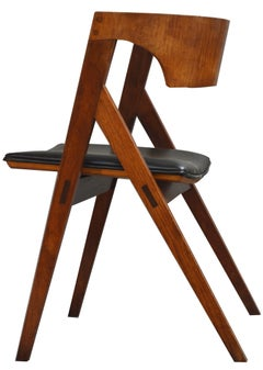 American Studio Craft Artist David N. Ebner's Dining Chair