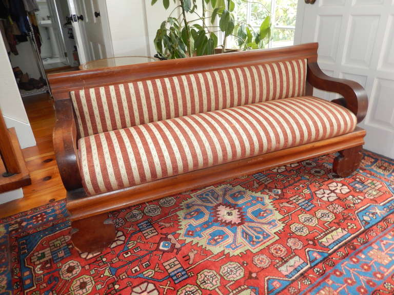 American Empire Church Pew Bench or Settee 2