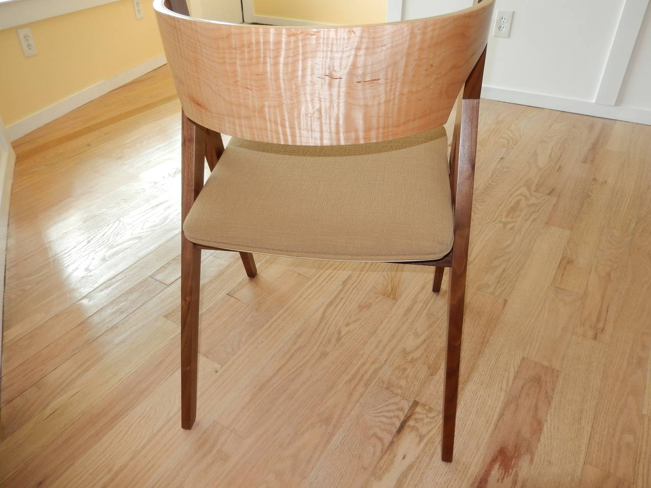American David N Ebner's Dining Room or Desk Chair For Sale