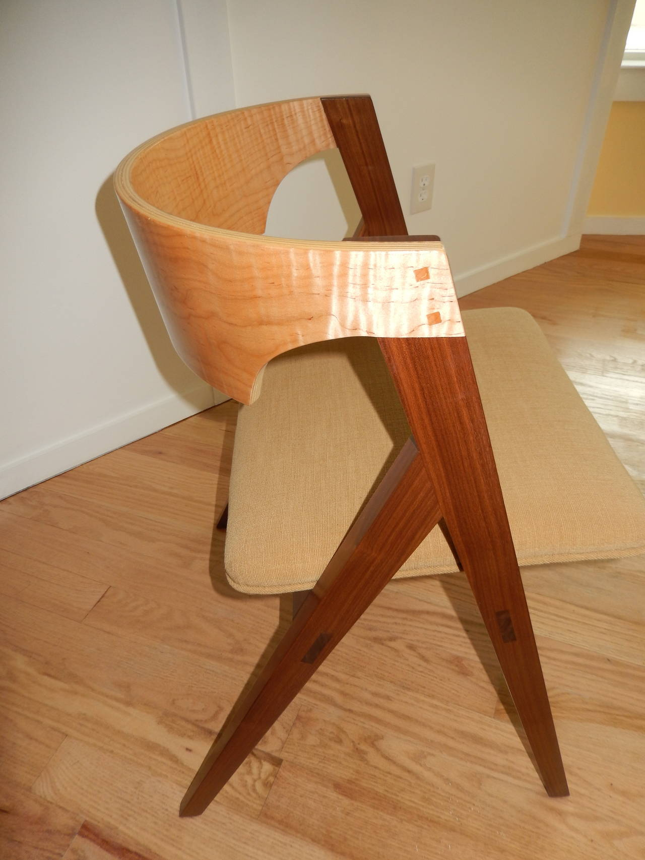 David N Ebner's Dining Room or Desk Chair In New Condition For Sale In Bellport, NY