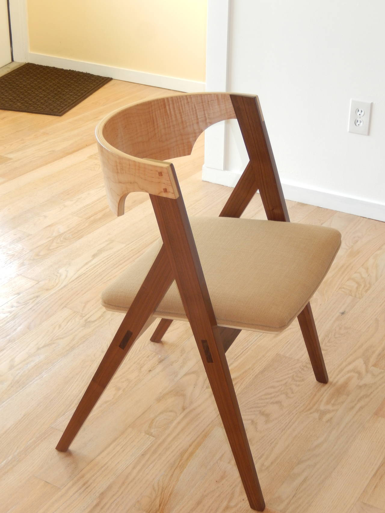 American Craftsman David N Ebner's Dining Room or Desk Chair For Sale