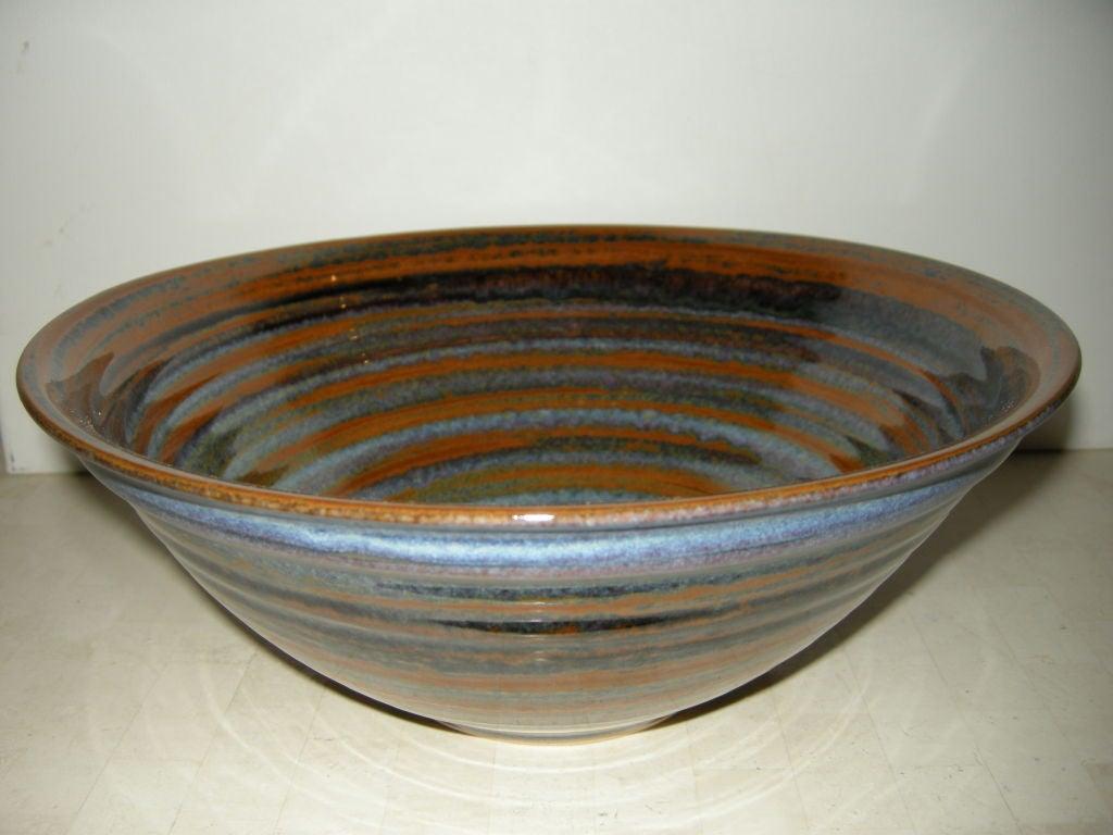 Hand Thrown Ceramic Bowl At 1stdibs