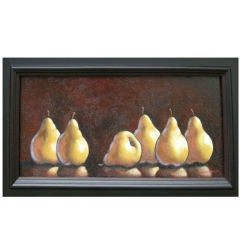 "'Pears"" by Long Island N.Y. Artist  Steven Klein"