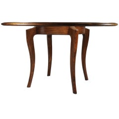 A Spectacular Dining Table by American Studio Craft Artist, David N. Ebner