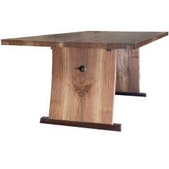 Dining Room/Desk by American Studio Craft Artist David N. Ebner.
