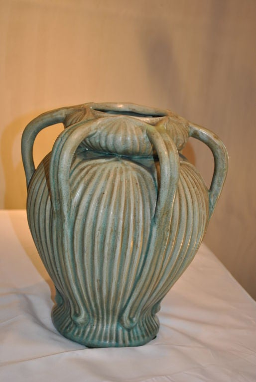 A wonderful grueby esque american arts and crafts pottery for Arts and crafts pottery