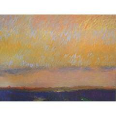 """Amber Light "" Sagaponack, Long Island, N.Y. by artist, Valta Us"
