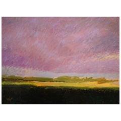 """Pale Violet Skies"" Long Island NY  by Valta Us."