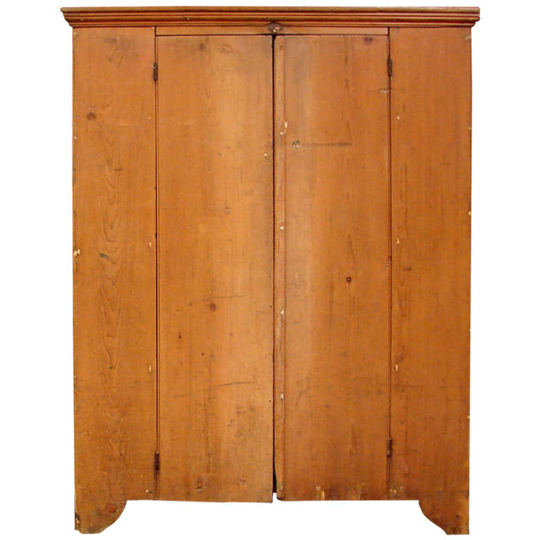 19th Century Pennsylvania Pine Jelly Cupboard For Sale