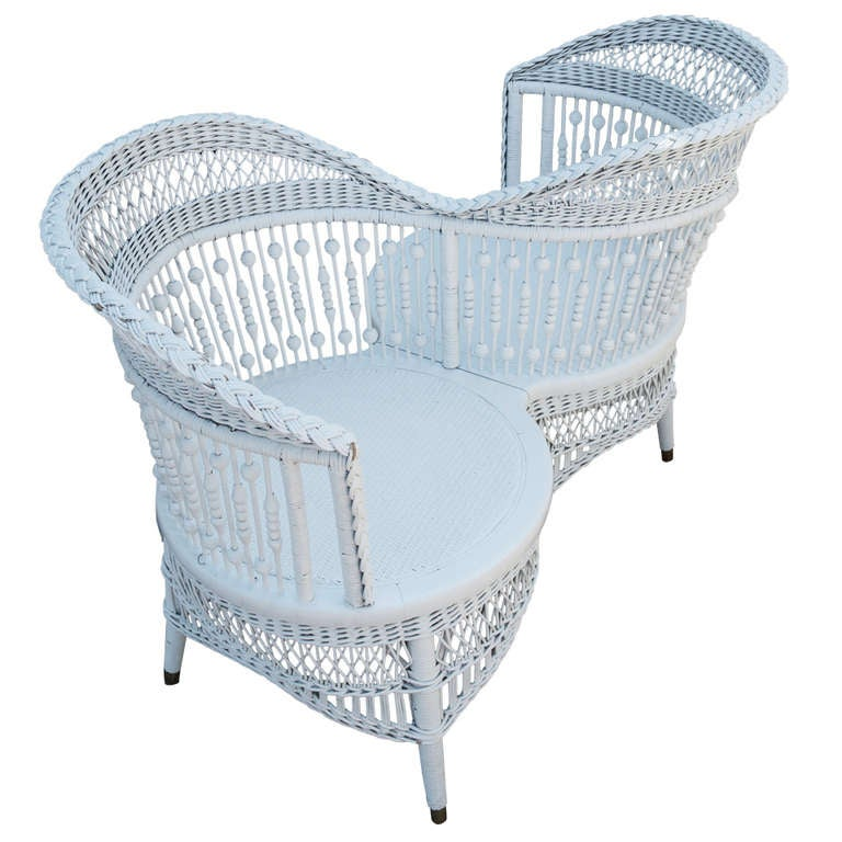 An American 19th Century White Wicker T 234 Te 224 T 234 Te At 1stdibs