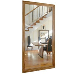 Lerner Floor Mirror by American Studio Craft  Artist David N. Ebner