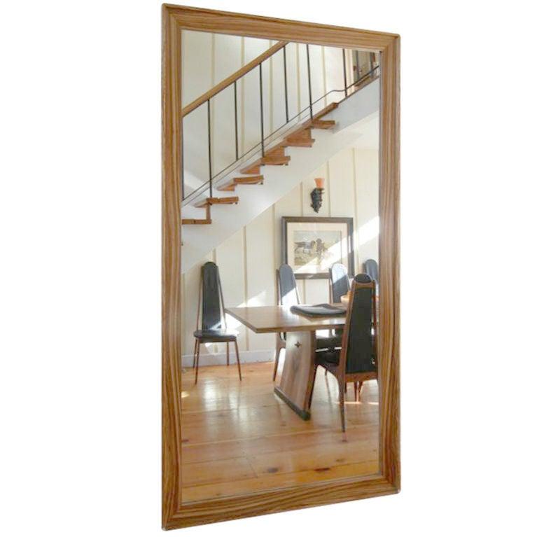 Lerner Floor Mirror By American Studio Craft By Artist David N Ebner For Sal