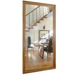 Lerner Floor Mirror by American Studio Craft  Artist David N. Ebner