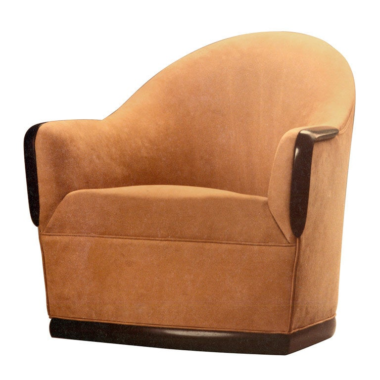 Swivel Barrel Chair by American Studio Craft Artist David