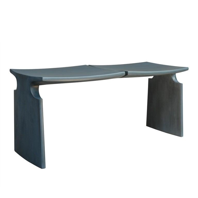 """MFA"" Bench by American Studio Craft Artist David N. Ebner For Sale"