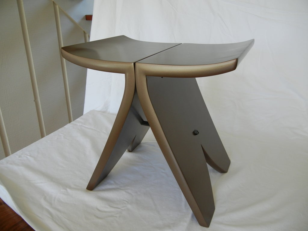 Terrific Stool 1 By American Studio Craft Artist David N Ebner Beatyapartments Chair Design Images Beatyapartmentscom