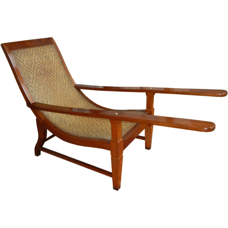 Plantation Chair from British Guiana 1 - Plantation Chair From British Guiana At 1stdibs
