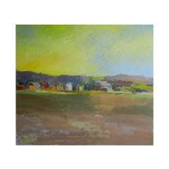 Landscape, Scuttlehole Road, by Long Island Artist Valta Us