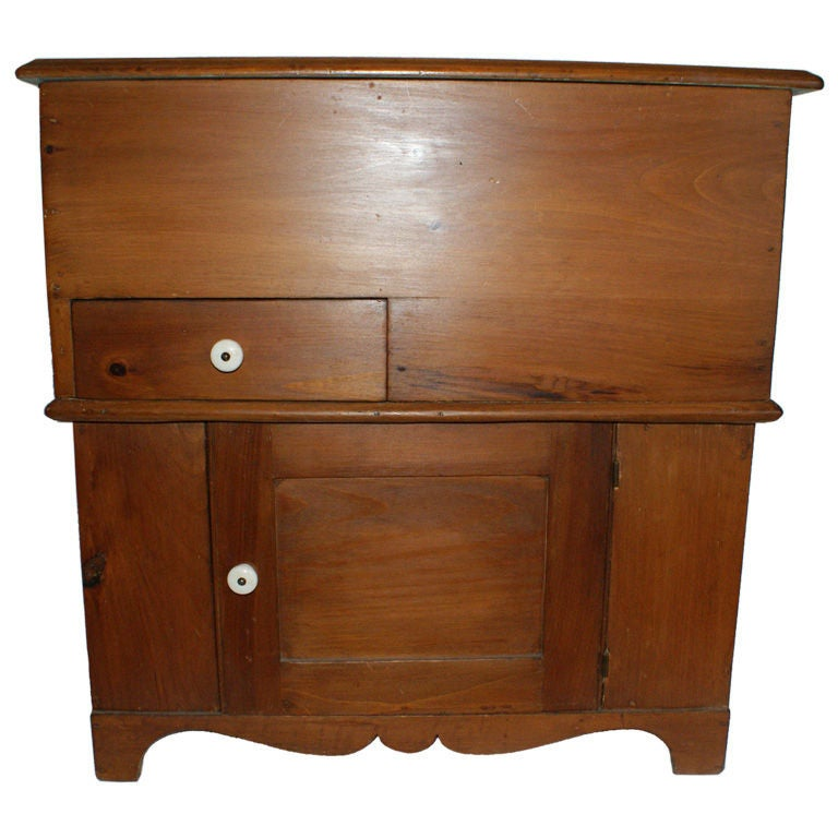 Americana New England Pine Dry Sink/Cabinet 1 - Americana New England Pine Dry Sink/Cabinet For Sale At 1stdibs