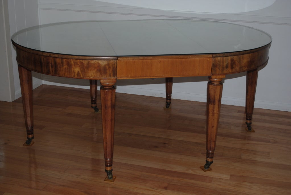 a louis philippe oval dining room table c1880s at 1stdibs